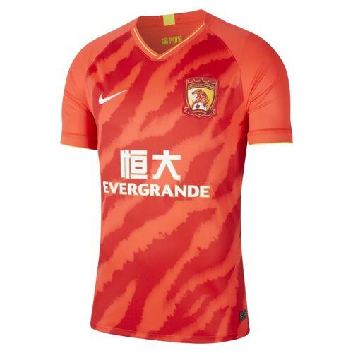 Nike Guangzhou Evergrande Taobao FC 2020 Stadium Home Herren-Fußballtrikot - Rot XS Male