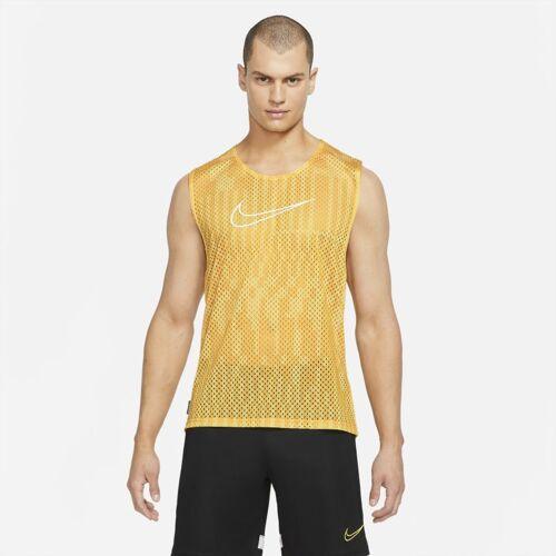 Nike Academy Ärmelloses ärmellose Fußballweste für Herren - Gelb XL Male