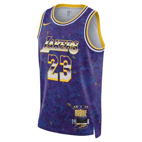 Nike LeBron James Select Series Nike NBA Trikot - Lila XL Male