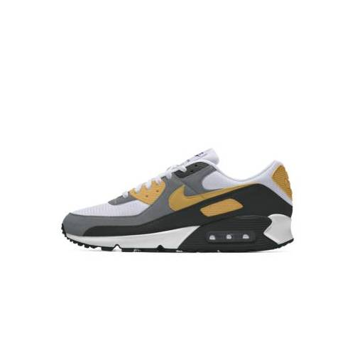 Nike Air Max 90 By You personalisierbarer Fußballschuh - Gelb 47.5 Male
