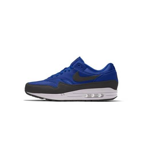 Nike Air Max 1 By You personalisierbarer Schuh - Blau 45 Male