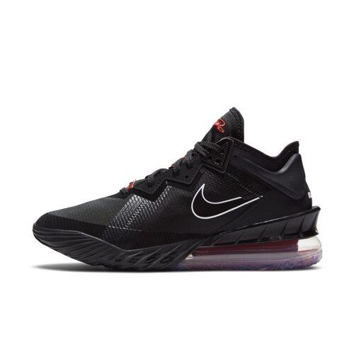 Nike LeBron 18 Low Basketballschuh - Schwarz 48.5 Unisex