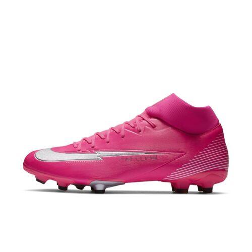 Nike Mercurial Superfly 7 Academy Mbappé Rosa MG Fußballschuh für verschiedene Böden - Pink, 45.5