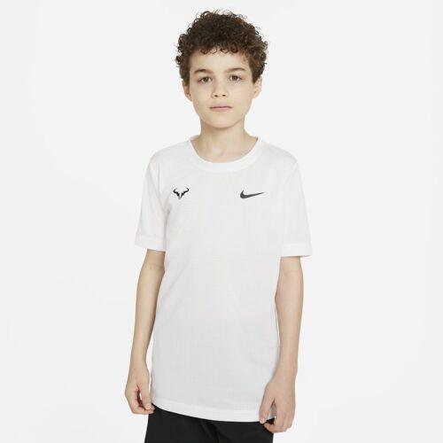 Nike Rafa Tennis-T-Shirt für ältere Kinder (Jungen) - Weiß XL Male