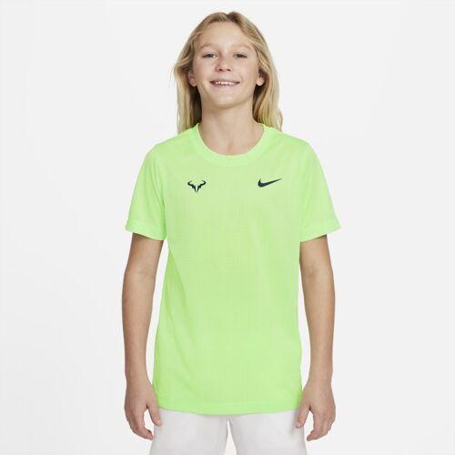 Nike Rafa Tennis-T-Shirt für ältere Kinder (Jungen) - Grün S Male