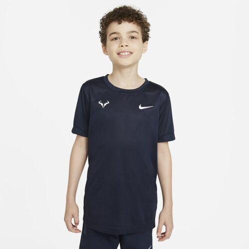 Nike Rafa Tennis-T-Shirt für ältere Kinder (Jungen) - Blau S Male