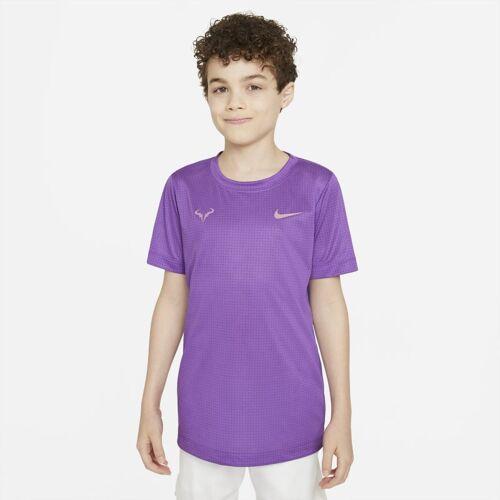 Nike Rafa Tennis-T-Shirt für ältere Kinder (Jungen) - Lila S Male