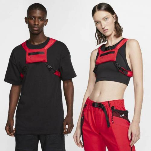 Nike x MMW Brusttasche - Rot M Male