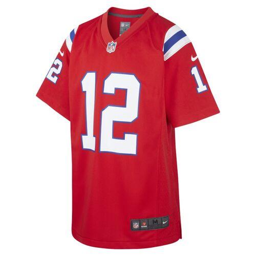 Nike NFL New England Patriots (Tom Brady) Spieltrikot für ältere Kinder - Rot S Male