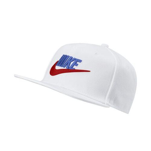 Nike Pro verstellbare Cap für Kinder - Weiß one size Unisex