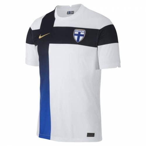 Nike Finnland 2020 Stadium Home Herren-Fußballtrikot - Weiß XS Male