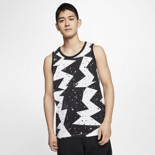 Nike Jordan Printed Poolside Herren-Tanktop - Schwarz L Male