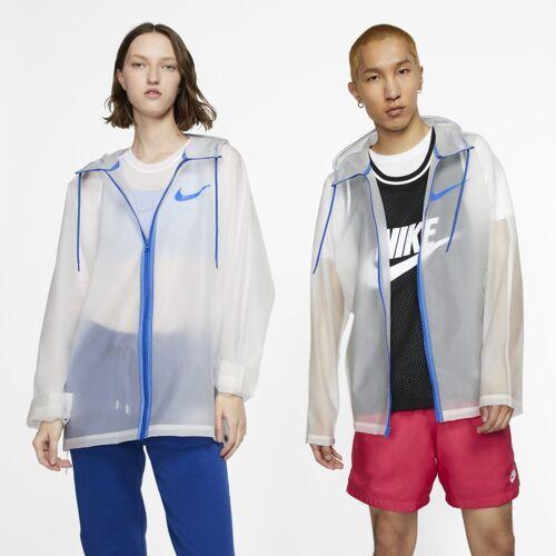 Nike transparente Regenjacke - Weiß XL Unisex
