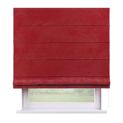 Dekoria Raffrollo Capri rot Modell: 130 × 170 cm