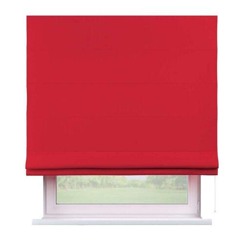 Dekoria Raffrollo Capri rot Modell: 80 × 170 cm