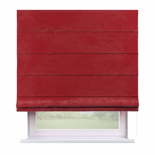 Dekoria Raffrollo Capri rot Modell: 160 × 170 cm