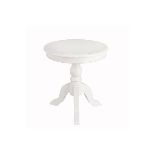 Dekoria Tisch Lara weiss  Modell: o50 cm