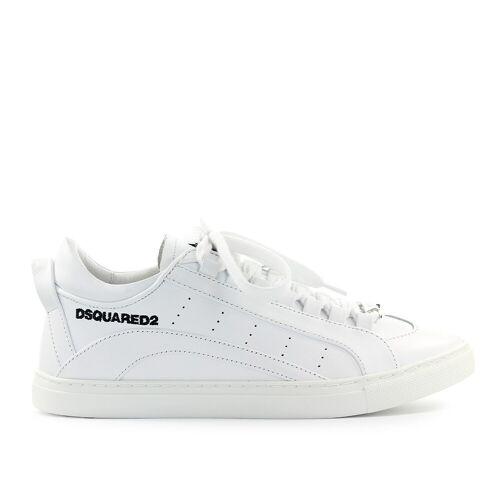 DSQUARED2 LOW SOLE WEIß SNEAKER Weiß 45