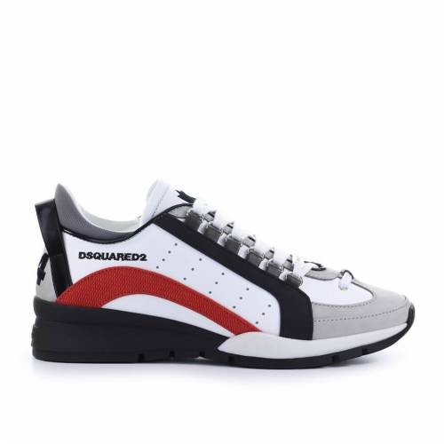 DSQUARED2 551 WEISS ROT SNEAKER Weiß 42