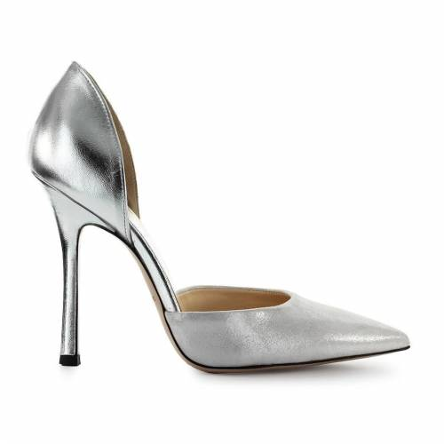 Marc PUMPS AUS SILBERLEDER MARC ELLIS