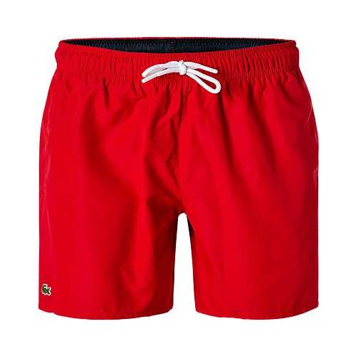 LACOSTE Badeshorts MH6270/528 rot