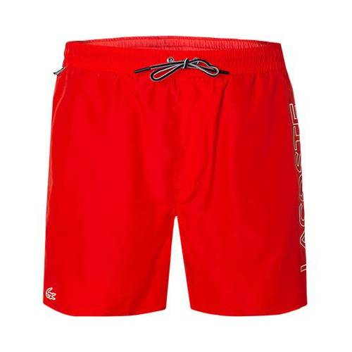 LACOSTE Badeshorts MH6277/S5H rot