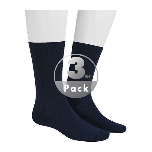 Hudson Relax Cotton Socken 3er Pack 004400/0387 blau