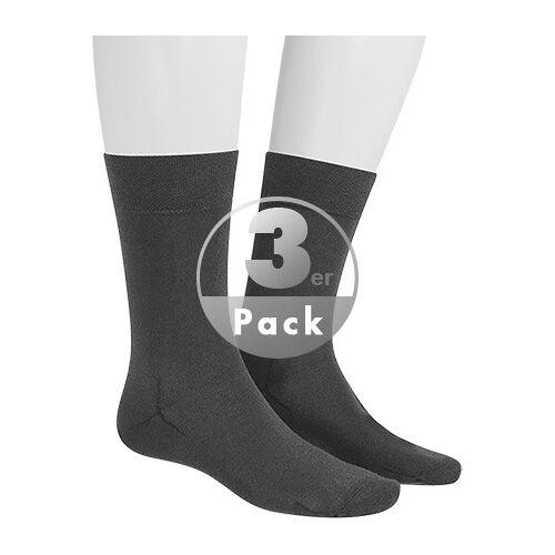 Hudson Relax Cotton Socken 3er Pack 004400/0550 Grau