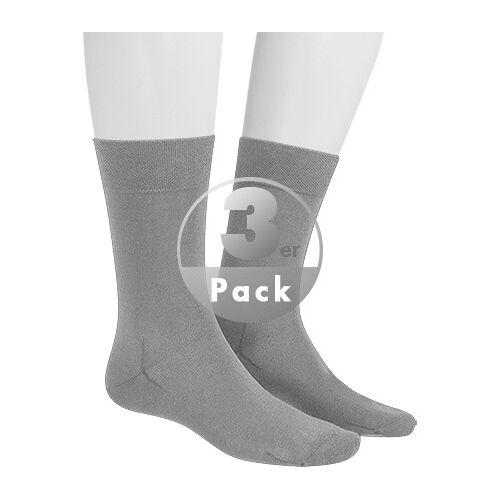 Hudson Relax Cotton Socken 3er Pack 004400/0502 Grau