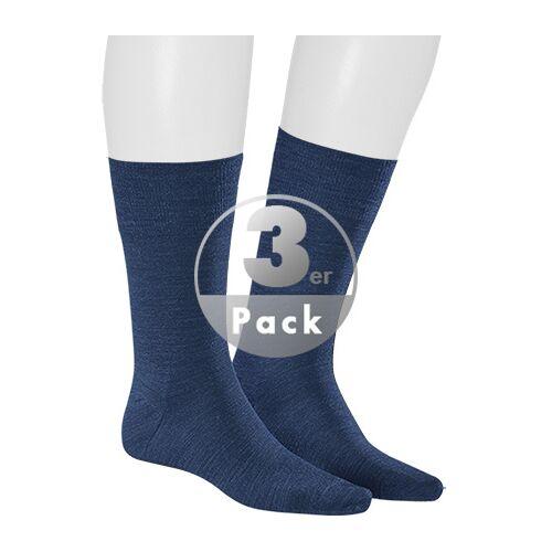 Kunert Men Gary Socke 3er Pack 871200/9550 blau