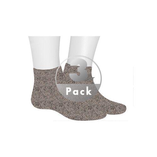 Kunert Men Homesocks Socke 3er Pack 860610/8190 beige