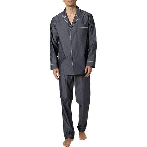 Zimmerli Woven Pyjama lang 4030/75001/071 Grau