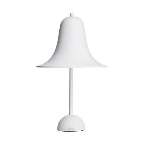 Verner Panton Pantop Tischlampe Matt Weiß Ø23 cm