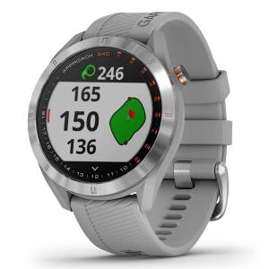 Garmin Approach S40 Golf GPS-Uhr, Herren, Grau   Online Golf
