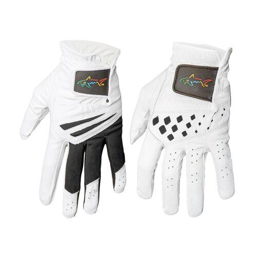 Norman Greg Norman Handschuhe, 2er-Packung, Herren, klein, Weiß/Schwarz   Online Golf