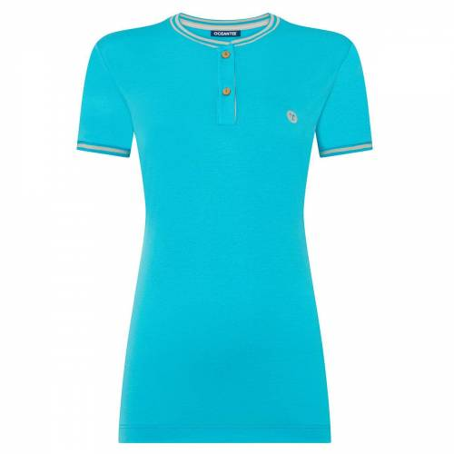 OCEANTEE Oceanic Golf Polo Shirt für Damen, Damen, Xtra Large, Aqua   Online Golf