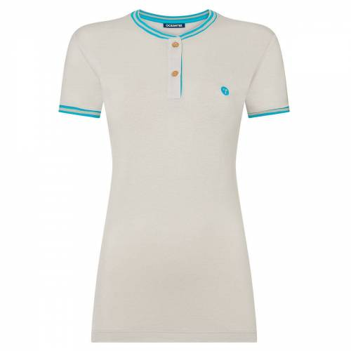OCEANTEE Oceanic Golf Polo Shirt für Damen, Damen, Xs, Light grey   Online Golf