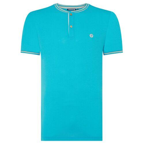 OCEANTEE Oceanic Poloshirt, Herren, groß, Aqua   Online Golf
