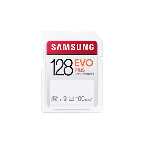 Samsung EVO Plus SD-Speicherkarte (2020) - 128 GB
