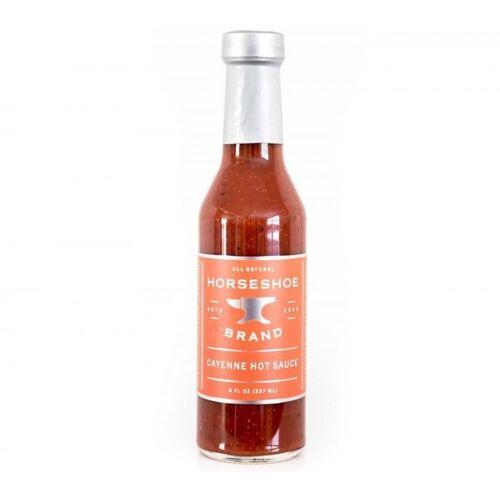 Horseshoe Brand Cayenne Hot Sauce