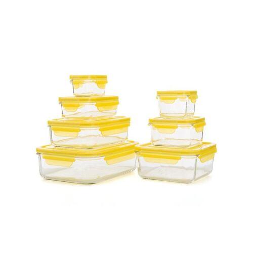 Glasslock Glasslock-Set, 7tlg. gelb