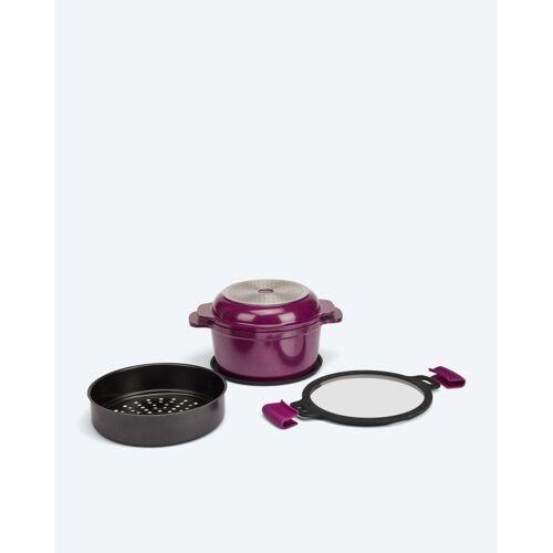 Cucinella 7in1 Kochgeschirr-Set aubergine