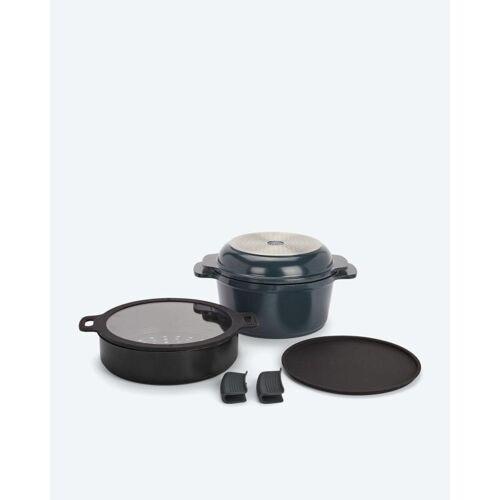 Cucinella 7in1 Kochgeschirr-Set anthrazit
