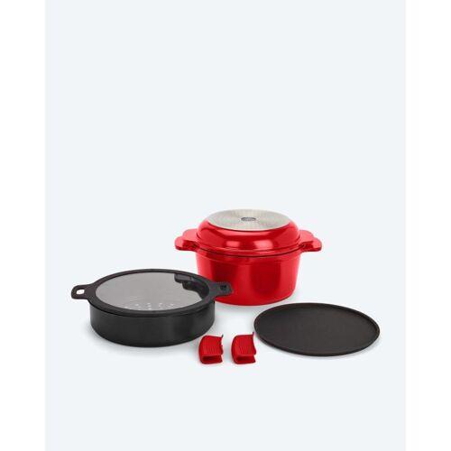 Cucinella 7in1 Kochgeschirr-Set rot