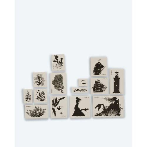 LaBlanche Home-Dekoration Stempel-Set + Keramikpapier Maritim