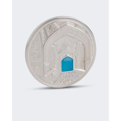 Sammlermünzen Reppa Silbermünze Glaskunst Isfahan 2020