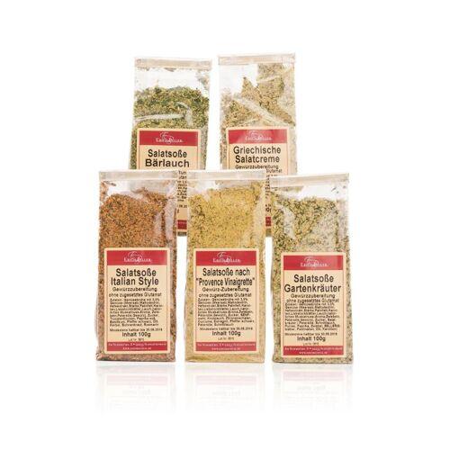 Biller's Gewürze & Tee Salatsoßenset; 5tlg.