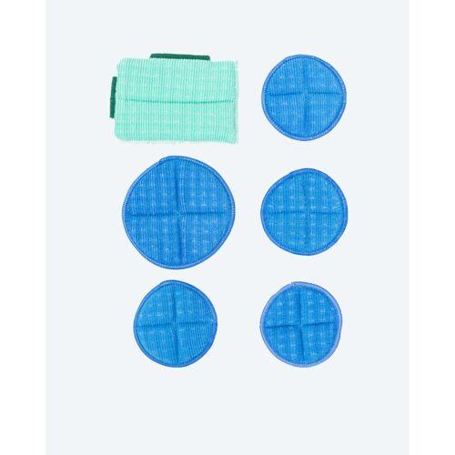 Das blaue Wunder Booster Premium Bambusfaser 6er-Set