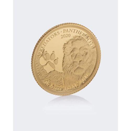 Sammlermünzen Reppa Goldmünze Löwe 2020