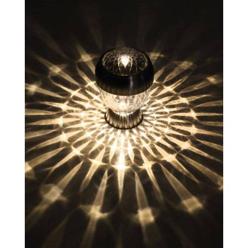 SOLITHIA Solar Kristall Leuchten Midi 4er-Set